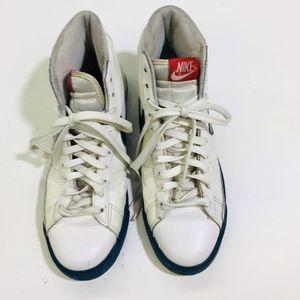 Nike Blazer High White Blue Force Varsity Red Mens